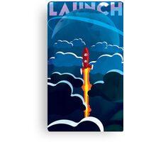 Launch! Canvas Print