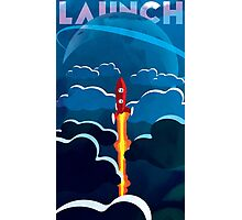 Launch! Photographic Print