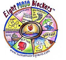 Eight Mojo Blockers Poster Photographic Print