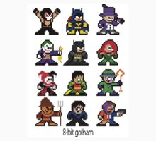 8-bit Gotham Sticker by 8 Bit Hero