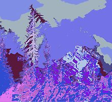 Winterland 2 Digital Image by Kenneth Grzesik