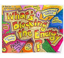 What's Blocking the Energy? Poster Poster