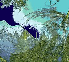 Winterland 5 Digital Image by Kenneth Grzesik
