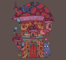 Mushroom House III One Piece - Short Sleeve