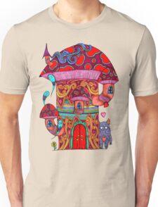 Mushroom House III Unisex T-Shirt