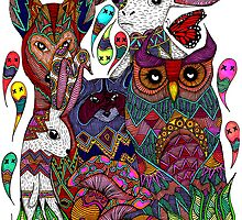 Woodland Creatures by Octavio Velazquez