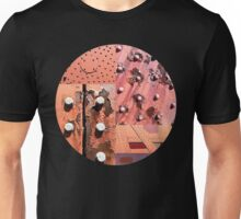 Rusty Circle (Black Background) Unisex T-Shirt