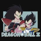 Dragonball Z (Raditz and Vegeta model) by Mélodie Courchesne