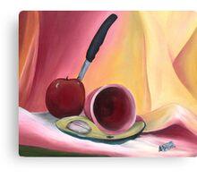 Apple No Cider Canvas Print