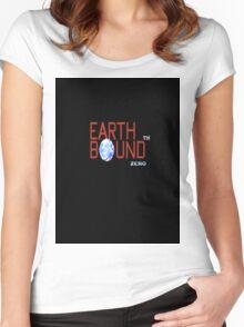 earthbound zero logo Women's Fitted Scoop T-Shirt
