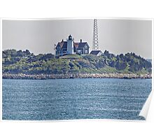 Nobska Point Lighthouse, Falmouth, Cape Cod Poster