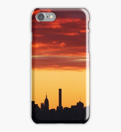 New York City Sunset Skies iPhone Case/Skin
