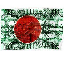 circuit board bangladesh (flag) Poster