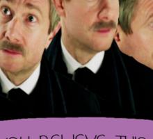 John Sassy Watson Sticker