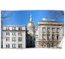 New Jersey Capitol Poster