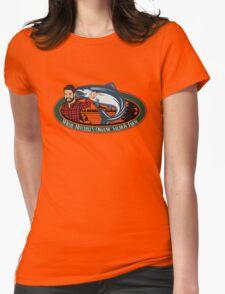 Mitch's Organic Salmon Farm Womens Fitted T-Shirt