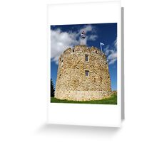 Round Walls Greeting Card