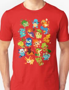 Pokemon All Characters Collage T-Shirt