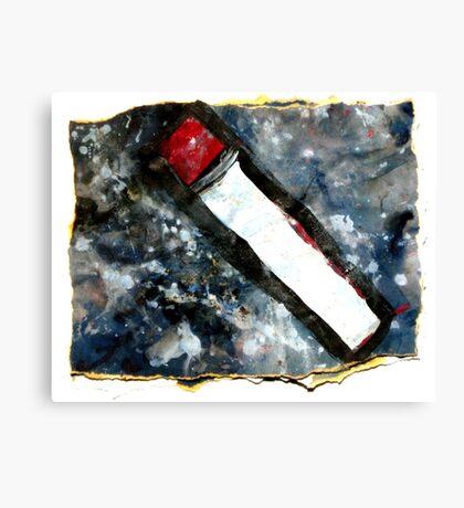 Red matchstick Canvas Print