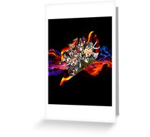 Flaming Fairytail Greeting Card