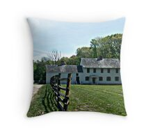 The Berrien Mansion at Rockingham Throw Pillow