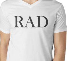 RAD (Dark) Mens V-Neck T-Shirt