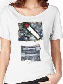 Grey matchsticks Women's Relaxed Fit T-Shirt