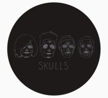 Skulls (no hair detail) by wellsi