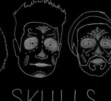Skulls (no hair detail) Sticker