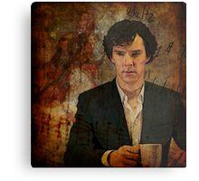 Waltz - BBC Sherlock Metal Print