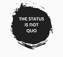 The Status is Not Quo Men's Baseball ¾ T-Shirt