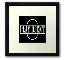 Play Djent Framed Print