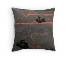 Roadhands Throw Pillow