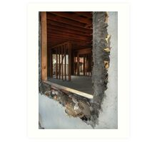 Demolish & Reconstruct Art Print