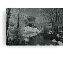"""Deep Creek #2"" Canvas Print"