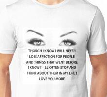affection 5 Unisex T-Shirt