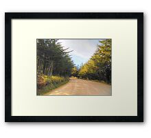©MS On The Road IA Framed Print