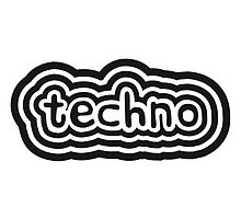 Techno Text Logo Design by Style-O-Mat