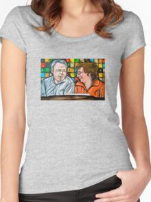 Archie and Edith Bunker  Women's Fitted Scoop T-Shirt