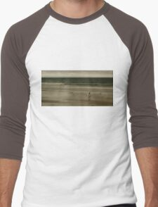 lone surfer Men's Baseball ¾ T-Shirt