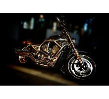 Harley-Davidson, V-rod Photographic Print