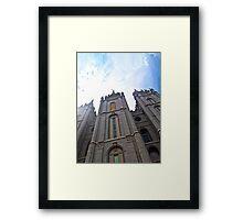 Salt Lake City LDS Temple Framed Print