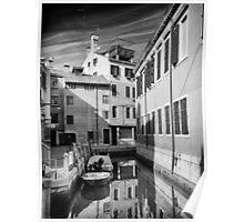 Venetian Cityscape Poster