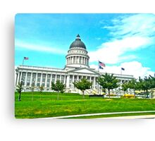 Capital Hill Canvas Print