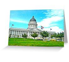 Capital Hill Greeting Card