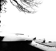 Two boats by Dobromir Dobrinov