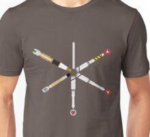 Simplistic Sonic Screwdrivers circle Unisex T-Shirt