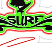 SURF Xtreme Designer Tees and Stickers Sticker