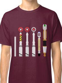 Simplistic Sonic Screwdrivers lineup Classic T-Shirt