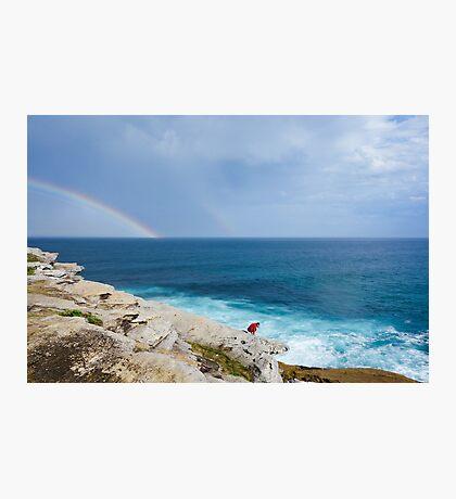Double Rainbow Photographic Print